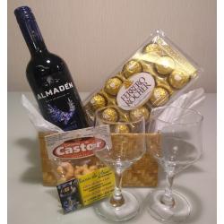 Presente Vinho e chocolate